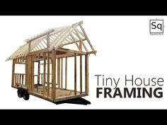 building a tiny house 2 framing youtube - Tiny House Framing 2