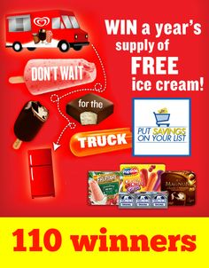 68 best coupons images on pinterest coupon codes frugal and save closed win a years supply of ice cream from food lion limited states fandeluxe Choice Image