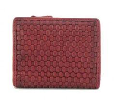 !!!Damengeldtasche Harbour 2nd Chili Red Hariet Soft Weaving 2 rot