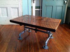 Reclaimed Barn Wood Table Coffee table
