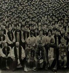 Pope, Bishops, Priests with glowing eyes ~ 25 Creepy Photos