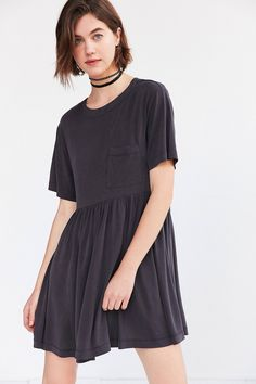 Shop the Silence + Noise Cupro Babydoll Mini T-Shirt Dress and more Urban Outfitters at Urban Outfitters. Read customer reviews, discover product details and more.