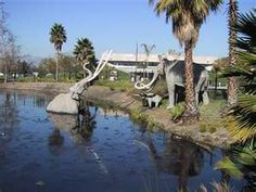 La Brea Tar Pits, and Page Museum, Los Angeles