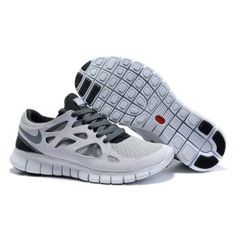 reputable site b4531 71d37 Billig mote Menn Nike Free Run Plus Lime Sorte Sko Nike Free Run 2, Grey