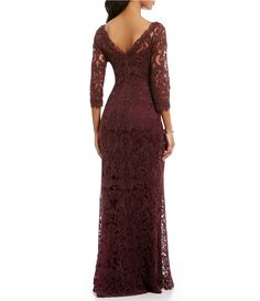 44165a76a96 Shop for Tadashi Shoji Embroidered Lace Gown at Dillards.com. Visit  Dillards.com to find clothing