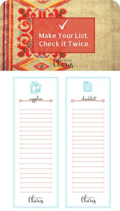 I love these tips on getting organized - a MUST for the Holidays.  Free printable too.  Love!