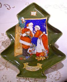 Natale e Porcellane: Centrotavola per Natale