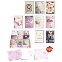 Beautiful handmade birthday cards for women