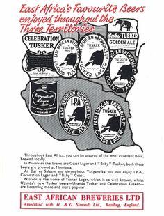 East Africa Breweries Ltd Ad 1955