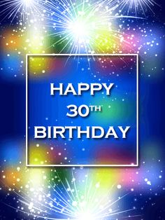 Send Free Blue Happy Birthday Fireworks Card to Loved Ones on Birthday & Greeting Cards by Davia. It's free, and you also can use your own customized birthday calendar and birthday reminders. 30th Birthday Wishes, 50th Birthday Cards, Birthday Calendar, Birthday Greeting Cards, Birthday Greetings, Birthday Fireworks, Birthday Reminder, Milestone Birthdays, Celebrations