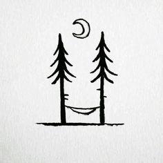 Pin by kaitlyn rathjen on winter easy drawings, drawings, doodle art. Small Drawings, Doodle Drawings, Doodle Art, Easy Drawings, Mini Drawings, Simple Doodles, Cute Doodles, Simple Art, Painted Rocks