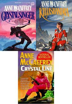The Crystal Singer Series is one of the best series of books by Anne McCaffrey. Killashandra Ree is a very interesting character.