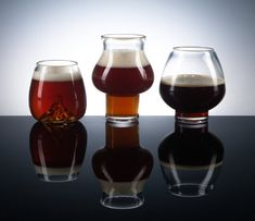 High Gravity Set, Pretentious Beer Glass Company Louisville KY   Wonderful selection of all types of beer glasses