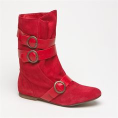 Andre red boots, these too,please