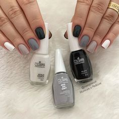 Cute Acrylic Nail Designs, Best Acrylic Nails, Nail Paint Shades, Basic Nails, Fire Nails, Minimalist Nails, Dream Nails, Perfect Nails, Nail Arts