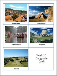 One Day at a Time...: Year 1 Geography Cards