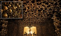 The chapel made from thousands of human BONES #DailyMail
