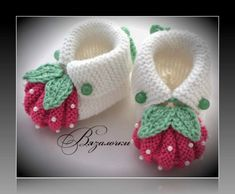 """Homemade baby booties are perf"", ""This post was discovered by Ümr"", ""Items similar to Handmade knitting baby slippers \""Adidas\"" pair) on Etsy"", ""These are knit, but it does give me the idea that I can work out for crochet also. Baby Booties Knitting Pattern, Crochet Baby Shoes, Crochet Baby Booties, Crochet Slippers, Baby Knitting Patterns, Baby Patterns, Crochet Patterns, Knitted Baby, Diy Crafts Knitting"