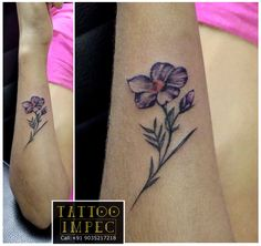 <3 Small tattoo <3 ;) Get inked from Experienced Tattoo Professional.. Call: Sunil C K @ +91 9035217218 to book your appointment.  www.facebook.com/tattooimpec
