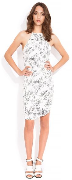 Wish sketch dress - this will be perfect for Spring racing!