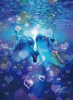 A great relationship doesn't happen because of the. Animal Pictures, Cute Pictures, Dolphins Tattoo, Sea Queen, Dolphin Art, Coral Art, Wale, Nautical Art, Ocean Life