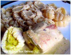 Escalope farcie (pesto & mozzarella)   La cuisine de Djouza