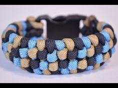 "How to Make the ""Snake Skin"" Design Paracord Bracelet - BoredParacord"