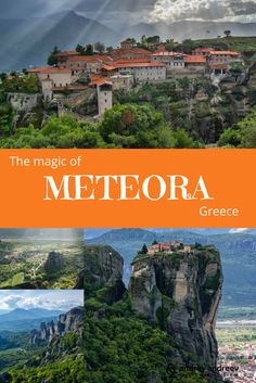METEORA IN GREECE – FAITH ON THE TOP OF THE WORLD - Andrey Andreev Travel and Photography. Exploring the beautiful monasteries at Holy Meteora, Greece