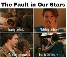 The Fault In Our Stars, very very true about the book. And trailer. It's so relatable Star Quotes, Movie Quotes, Book Quotes, Book Memes, True Quotes, This Is A Book, The Book, Jhon Green, Augustus Waters