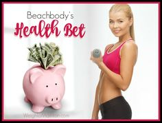With Beachbody's Health Bet you can earn portions of a 1+ million dollar pot just for working out 3 days per week, drinking 5 Shakeology…
