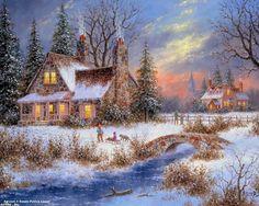 sleigh ride by dennis lewan.