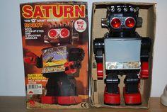 Saturn Robot 1980