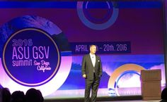 Thrilled to be at #asugsvsummit for third year! Thanks Michael Moe and the whole ASU GSV team. - Twitter Search