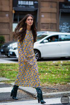Diletta Bonaiuti Street Style Street Fashion Streetsnaps by STYLEDUMONDE Street… Clothing, Shoes & Jewelry - Women - leggings outfit for women - http://amzn.to/2kxu4S1