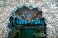 Mitzvah & Party: Balloon Centerpieces & Theme Ideas Winter Wonderland Arch – mazelmoments