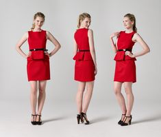 DOWNLOAD THE PEPLUM DRESS SEWING PATTERN HERE: http://etsy.me/1sSJUDH All of the Teach Me Fashion Sewing Patterns are available here: http://etsy.me/1sJpH9o ...
