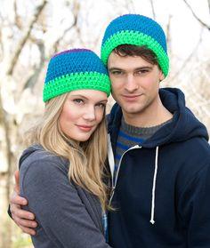 T(hat's) Cool Hat Crochet Pattern | Red Heart