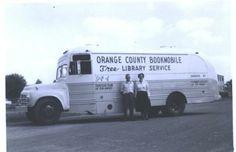 Bookmobile 001 | Orlando Memory Library Services, Historical Photos, Orange County, Old And New, Orlando, Florida, Memories, Times, History