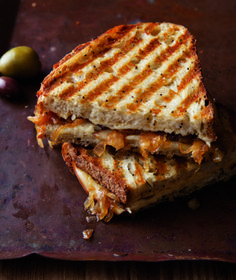 Caramelized Onion and Smoked Gouda Panini Recipe - EcoSalon | Conscious Culture and Fashion