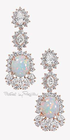 GABRIELLE'S AMAZING FANTASY CLOSET | Regilla ⚜ Dior Diamond & Opal Earrings