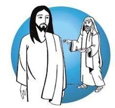 """Jesus e Nicodemos Jo 3,1-8  Havia alguém dentre os fariseus, chamado Nicodemos, um dos chefes dos judeus. À noite, ele foi se encontrar com Jesus e lhe disse: """"Rabi, sabemos que vieste como mestre da parte de Deus, pois ninguém é capaz de fazer os sinais que tu fazes, se Deus não está com ele"""". Jesus respondeu: """"Em verdade, em verdade, te digo: se alguém não nascer do alto, não poderá ver o Reino de Deus!"""" [...]."""