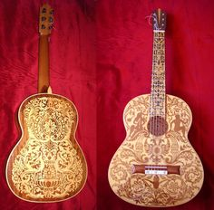 Guitarra Marquetería Peñalver-Torres