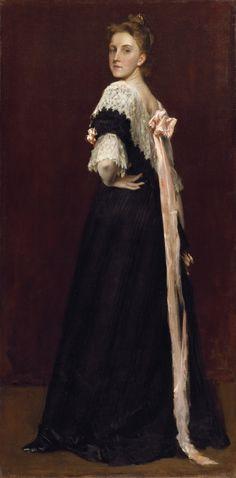 Lydia Field Emmet, 1892, William Merritt Chase Brooklyn Museum