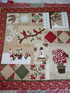 I love Christmas Quilts