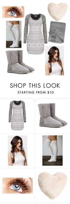 """Good Night"" by lovedance864 ❤ liked on Polyvore featuring mode, maurices, UGG Australia, With Love From CA, Nordstrom en Sofia Cashmere"