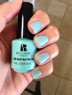 Sea Cloud Cruise Gel Nail Varnish, Gel Polish, Nail Manicure, Gel Nails, Nail Polishes, Red Carpet Manicure, Chic Nails, I Love Makeup, How To Do Nails