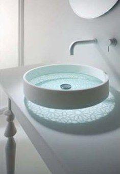 quero um lavabo com esta cuba iluminada