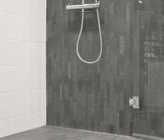 Bathtub, Bathroom, Interior, Design, Home Decor, Full Bath, Mosaics, Standing Bath, Washroom