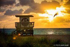 Sonnenaufgang South Beach Miami, Florida
