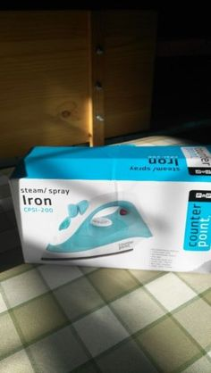 I have an iron still in the box, barely used for sale